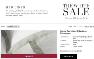 White Company Sale