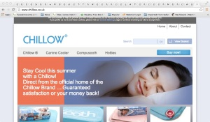 Chillow home page