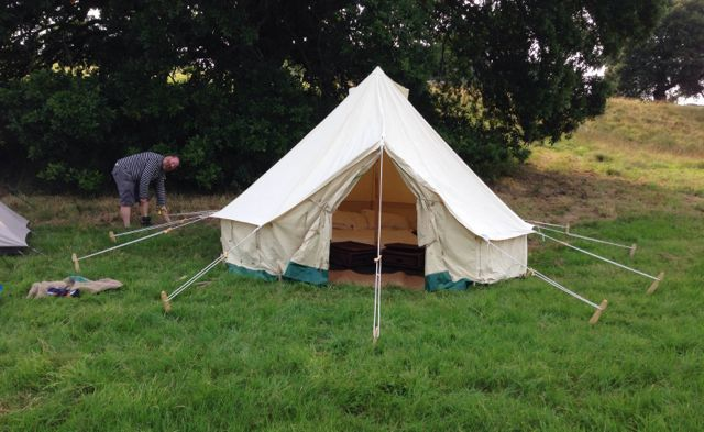 Bell Tent at Port Eliot